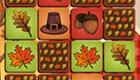 Juego de memoria de Acción de Gracias