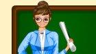 Chica profesora de colegio