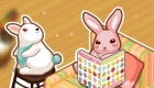 Juego de decorar la casa del conejo de Pascua