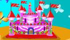 Tarta de castillo de princesas