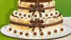 Maravillosa tarta de boda