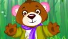 Juego de vestir de oso