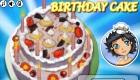Hacer una tarta de cumpleaños