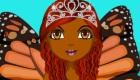 Viste a la princesa mariposa