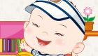 Vestir a un precioso bebé