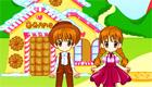 La tierra de caramelos de Hansel y Gretel