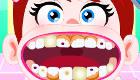 La pequeña Liliana va al dentista