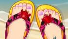 Decorar zapatos de verano