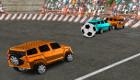 Juegar al fútbol con coches