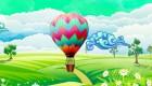 Aventura en globo para chicas