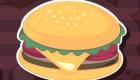 Juego de divertidas hamburguesas