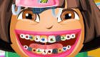 Juego de dentista de Dora Exploradora
