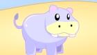 Juego de chicas de hipopótamo