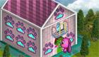 Juego de diseño de casa de chicas