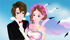 Juego de boda en la costa para chicas