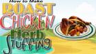 Receta de pollo asado