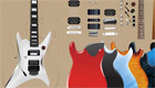 Una guitarra eléctrica para chica