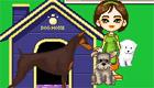 Una tienda de animales para chicas