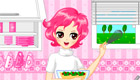 Decoración de cocina de chica