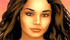 Maquilla a Vanessa, más conocida como Gabriella