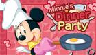 Minnie, una chica en la cocina