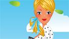 Chica de picnic