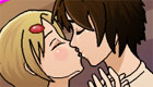 Juego de amor y besos