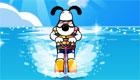 Super juego de esquí acuático para perro