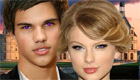 Taylor Swift con Taylor Lautner