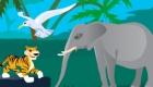 Decora la jungla con animales