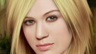Juego de maquillar a Kelly Clarkson
