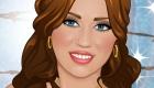 Juego de maquillar a Miley Cyrus