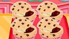 Magdalenas de chocolate y mermelada con Hello Kitty