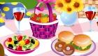 Juego de decorar de picnic