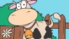 Juego de colorear vaca