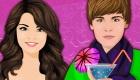 Cócteles de amor de Selena y Justin