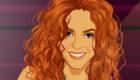 Vestir y maquillar a Shakira