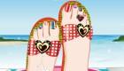 Pintar las uñas de los pies