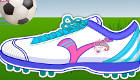 Juego de vestir de zapatillas de deporte