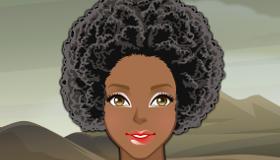 Vestir a mujeres africanas