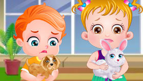 Baby Hazel hospital de animales