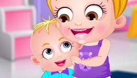 Baby Hazel tiene un hermanito