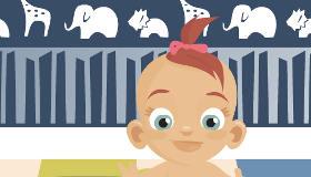 Juego de niñera de bebés