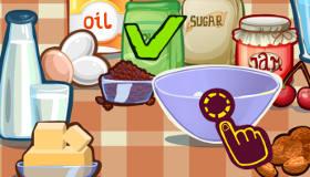 Diversión en la pastelería