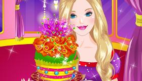Juego de pasteles de Barbie