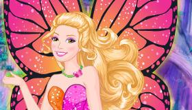 Juego de Barbie y la puerta secreta para vestir