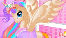 Princesa Pony de cumpleaños