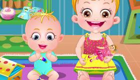 Baby Hazel y su hermano