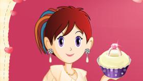 Juego de cupcake de boda