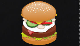 Hacer hamburguesas en inglés